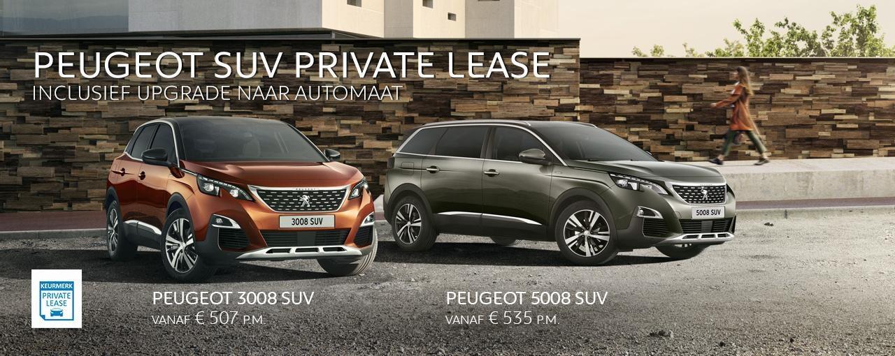 Peugeot 3008 SUV en 5008 SUV - upgrade naar automaat