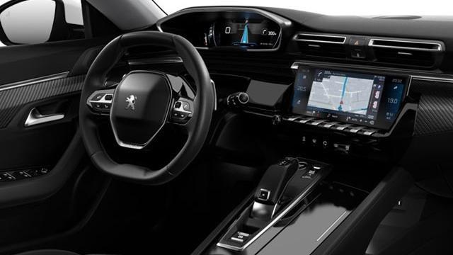 Nieuwe Peugeot 508 SW - interieur