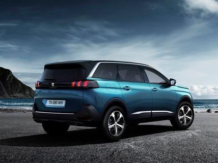 Nieuwe Peugeot 5008 suv