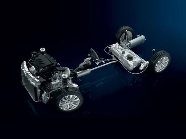 De compacte Peugeot 208 5-deurs - onderstel