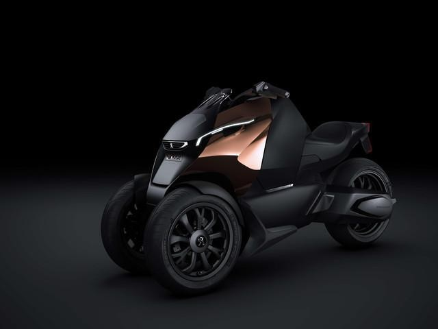 Peugeot ONYX - concept scooter