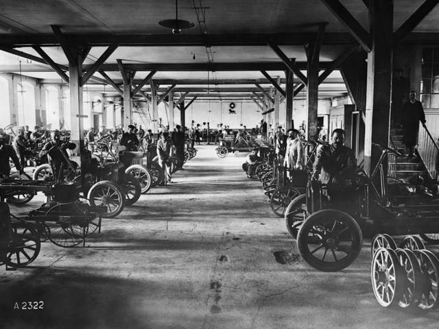 Peugeot - Historie - 1910 - Société Anonyme des Automobiles et Cycles Peugeot
