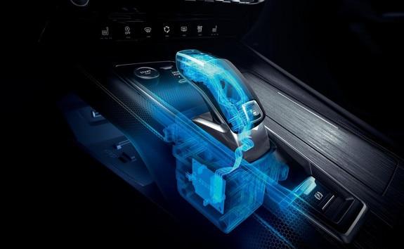 Nieuwe Peugeot 508 SW, automatische transmissie EAT8 met elektrische Shift and Park by wire-bediening