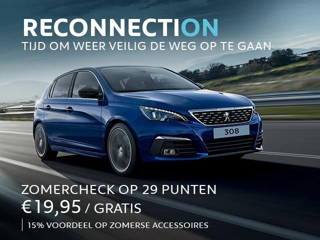 Peugeot Services & Accessoires - Zomercheck