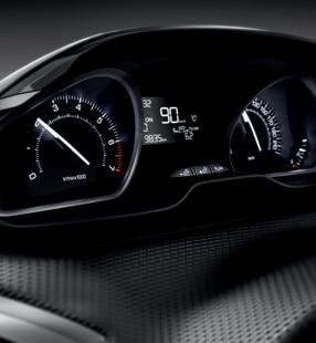 De compacte Peugeot 208 5-deurs - intstrumentenpaneel