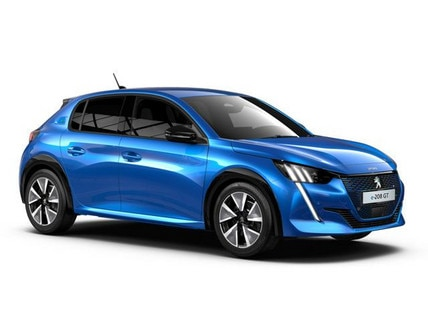 Nieuwe Peugeot e-208 GT - Private Lease