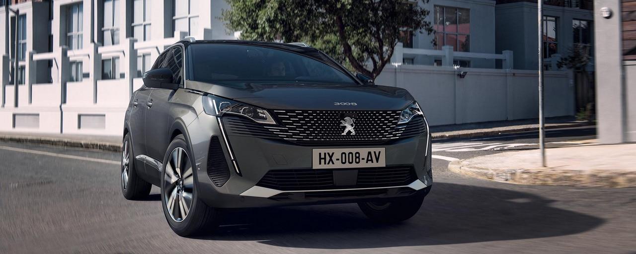 Nieuwe Peugeot 3008 SUV –  Nieuw front met sterke persoonlijkheid