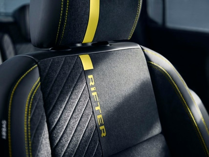 PEUGEOT RIFTER 4X4 CONCEPT - Detail stoel