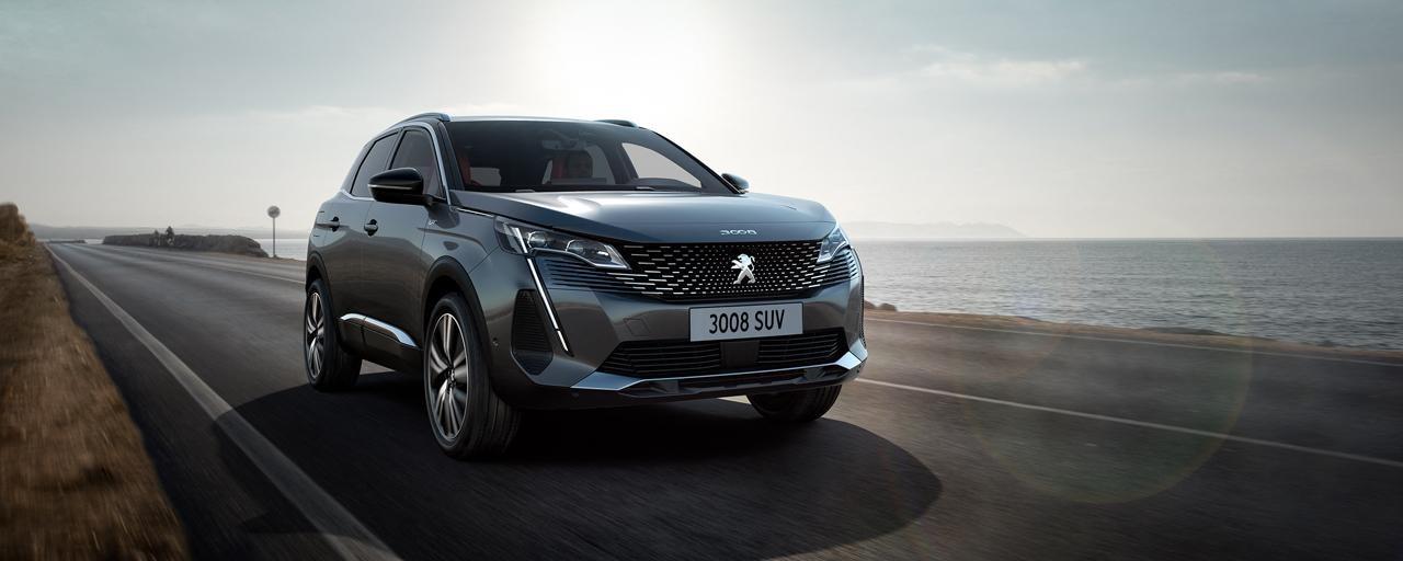 Nieuwe Peugeot 3008 SUV – Nieuw gezicht