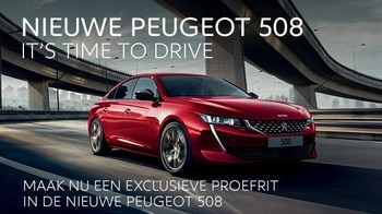 Nieuwe Peugeot 508 - It's time to drive
