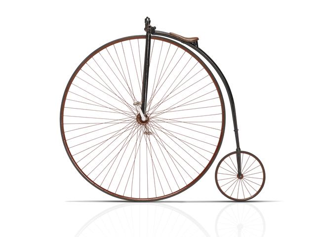 "Peugeot - Historie - 1886 - vélocipède ""Grand Bi"""
