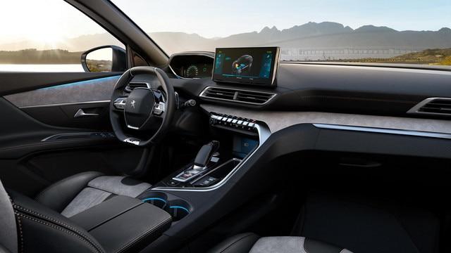 Nieuwe Peugeot 3008 SUV HYbrid -  Aangenaam interieur in alle stilte