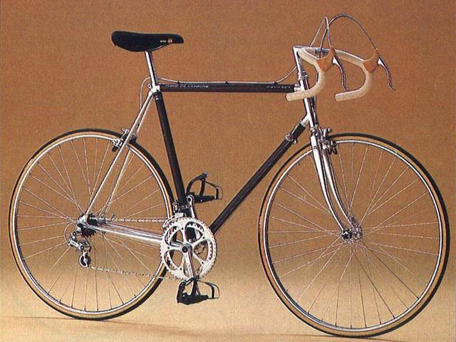 Peugeot - Historie - 1983 - PY10 - eerste fiets van carbon