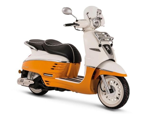 Peugeot - Historie - 2016 - Peugeot Django Scooter