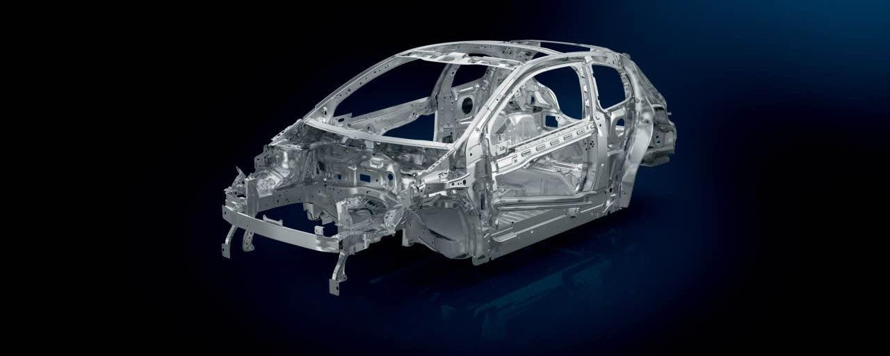De compacte Peugeot 208 5-deurs - structuur