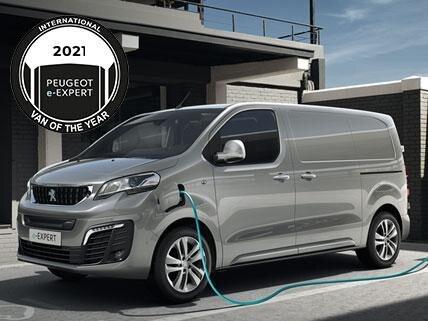 Nieuwe Peugeot e-Expert - Van of the year 2021