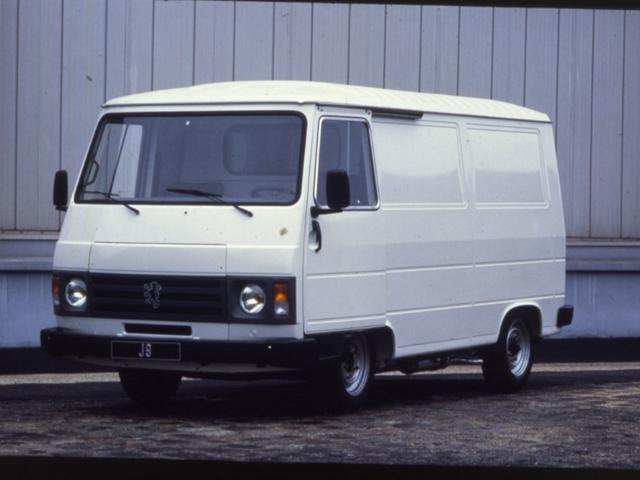 Peugeot - Historie - 1980 - J5 bedrijfsauto