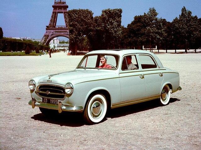 Peugeot - Historie - 1955 - Peugeot 403 Pininfarina