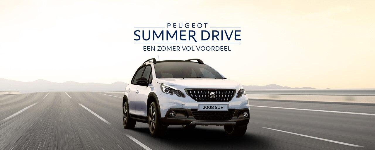 Peugeot Summer Drive - Een zomer vol voordeel - Peugeot 2008 SUV