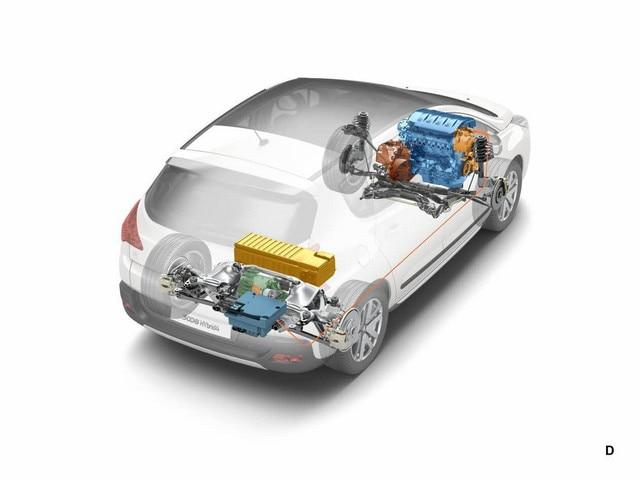 Peugeot - Historie - 2011 - Full Hybrid 4