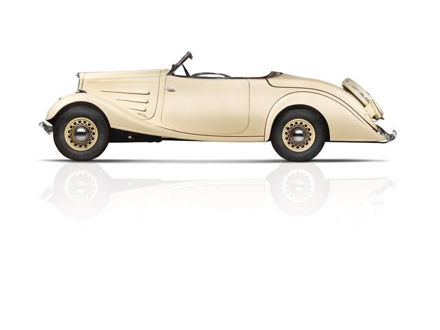 Peugeot - Historie - 1934 - wegklapbaar dak