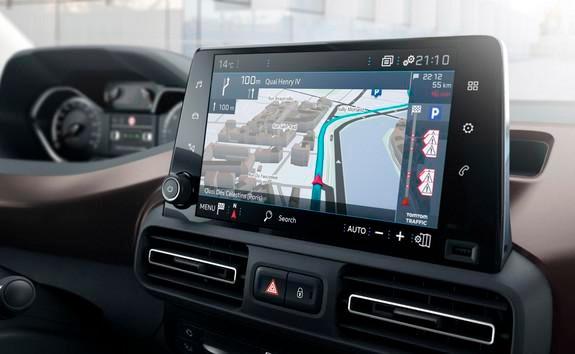 Peugeot Rifter – 8 inch touchscreen