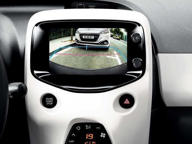 Peugeot 108 - technologie
