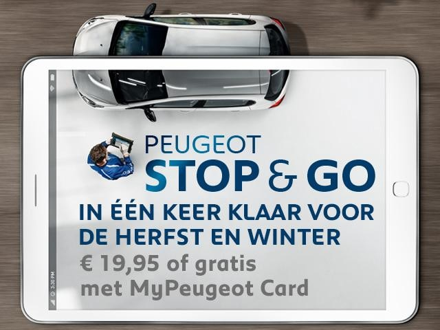 Peugeot Stop & Go