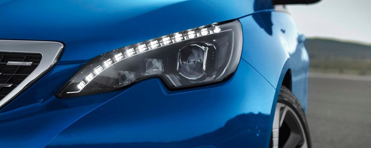 Peugeot 308: full LED-koplampen