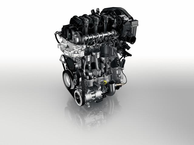 Peugeot - Historie - 2015 - PureTech turbobenzinemotor