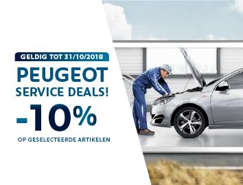 Peugeot Service Deals