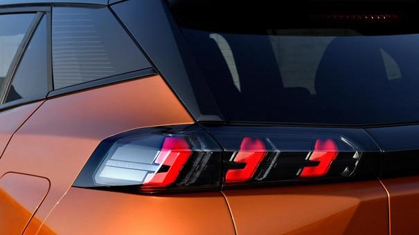 Nieuwe PEUGEOT 2008 SUV: led-achterlichten