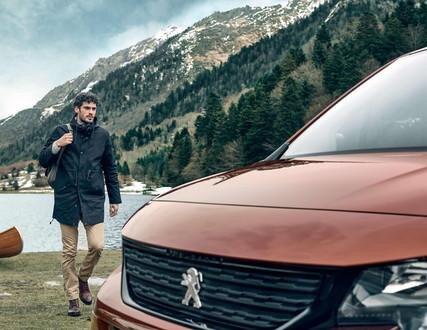 Peugeot Rifter –  Een karakteristiek front