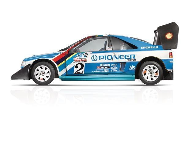 Peugeot - Historie - 1989 - Peugeot 405 T16 Pikes Peak Rally