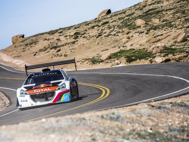 Peugeot - Historie - 2013 - Peugeot record Pikes Peak Rally