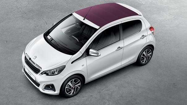 Peugeot 108 - chic en elegant