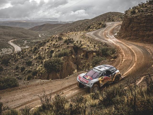 Peugeot Peugeot - Historie - 2017 -  Peugeot 3008 DKR