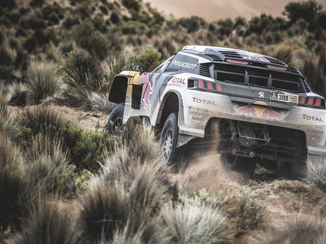 Peugeot - Historie - 2017 - Peugeot 3008 DKR