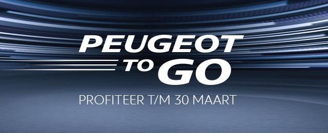 Peugeot ToGo Voorraadvoordeel