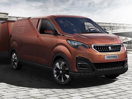 Peugeot Foodtruck concept car