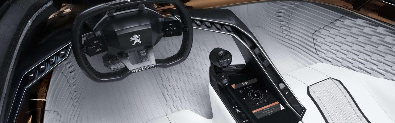 Peugeot Fractal - PEUGEOT i-Cockpit®