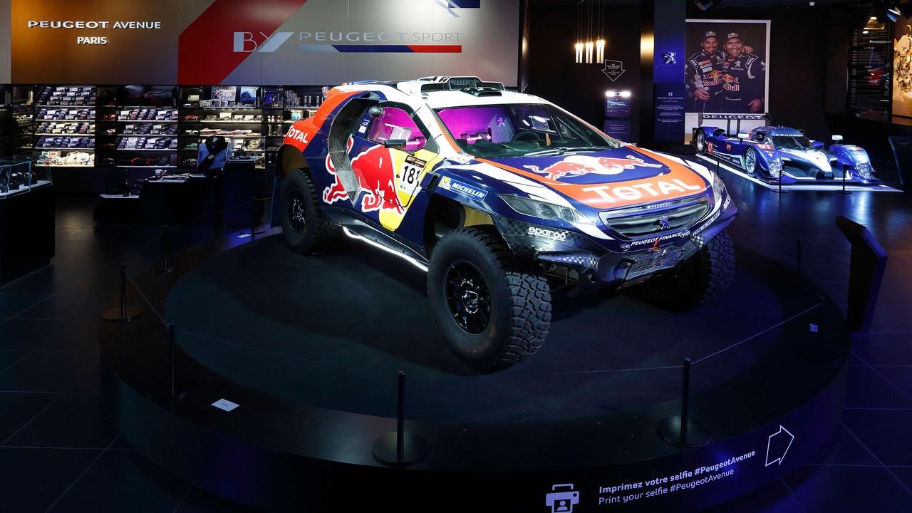 """De wereld van het merk Peugeot - Tentoonstelling """"BY Peugeot Sport"""""""