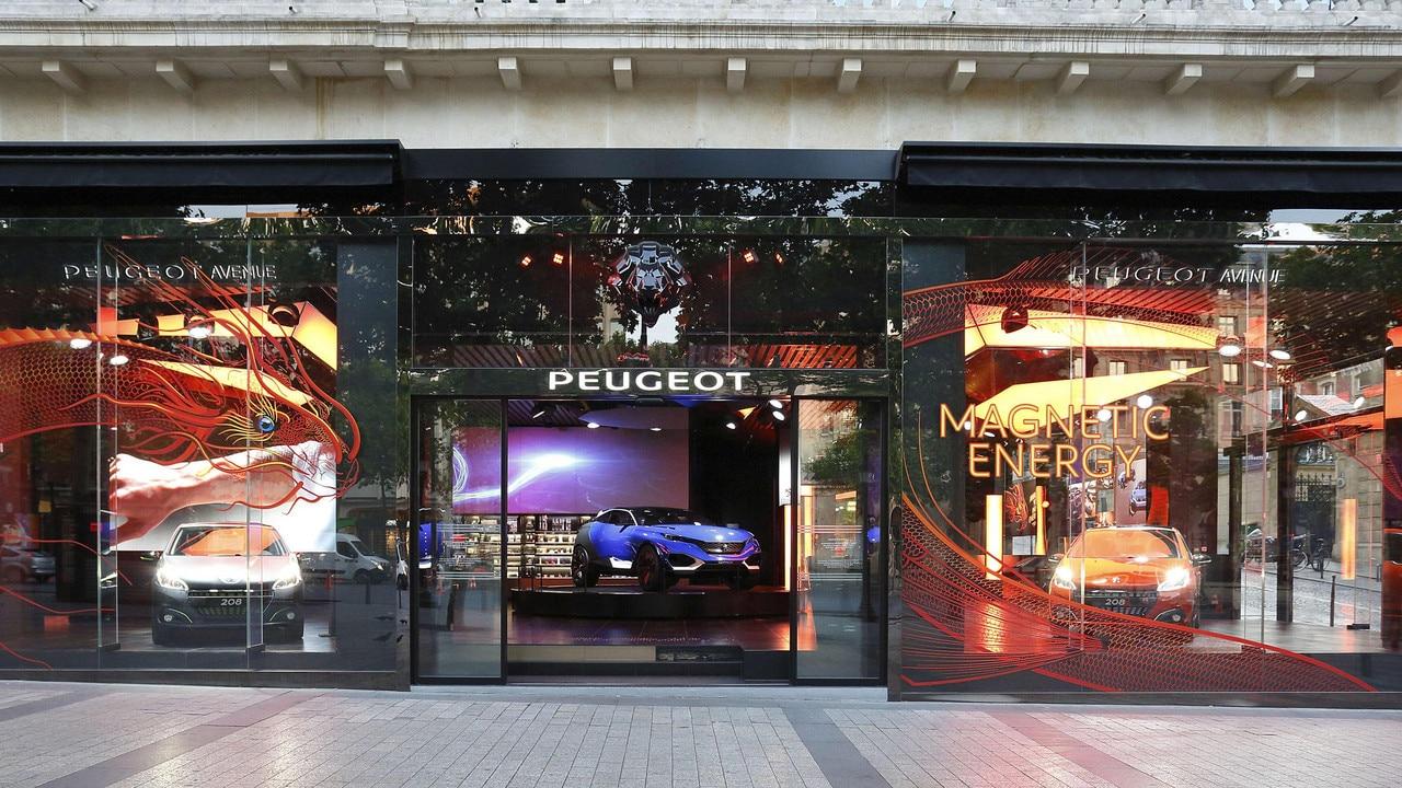 """De wereld van het merk Peugeot - Tentoonstelling """"Magnetic Energy"""""""