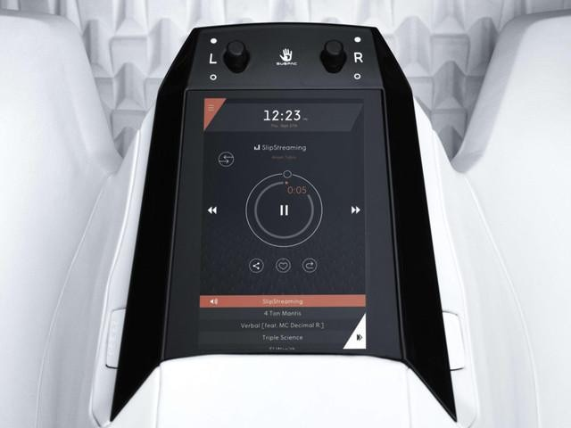 Peugeot Fractal - geluidsinstallatie SubPac