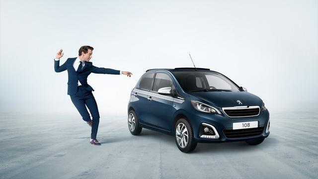 Peugeot 108 - Bleu Smalt