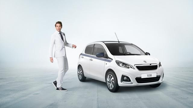 Peugeot 108 - Blanc Lipizan