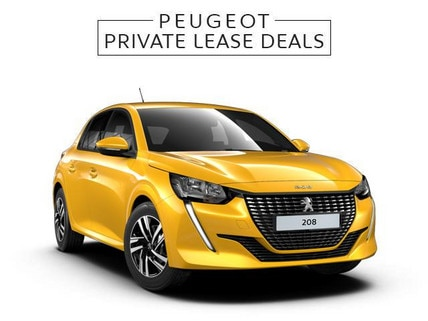 Nieuwe Peugeot 208 Allure Jaune Faro