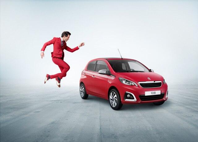 Peugeot 108 - Rouge Scarlet