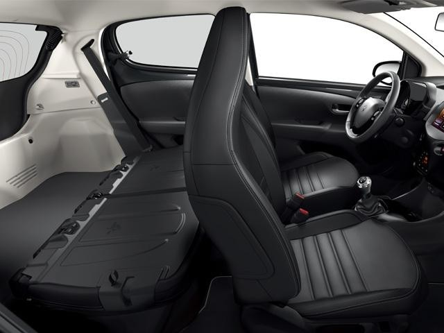 Peugeot 108 - bagageruimte en indeling