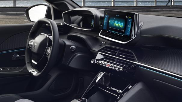 Nieuwe Peugeot e-208 - PEUGEOT i-Cockpit® 3D